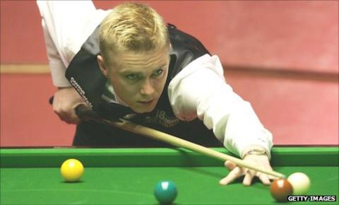 Paul Hunter in action in 2005