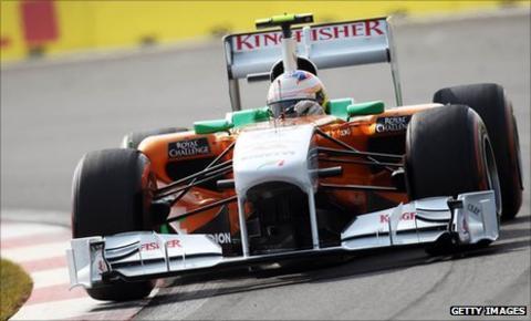 Force India's Paul Di Resta