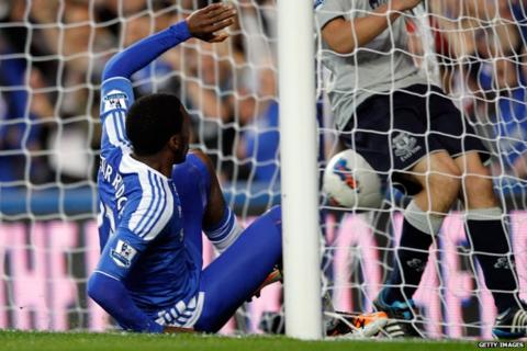Daniel Sturridge scores for Chelsea