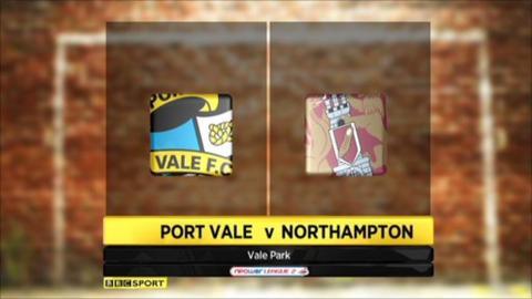 Port Vale 3-0 Northampton