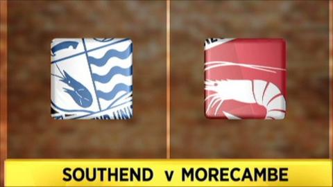 Southend v Morecambe