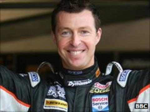 British Touring Car champion Matt Neal