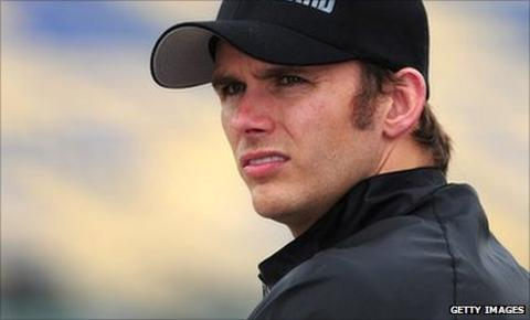 British IndyCar driver Dan Wheldon