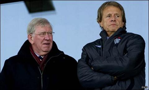 John Greig and Alastair Johnston