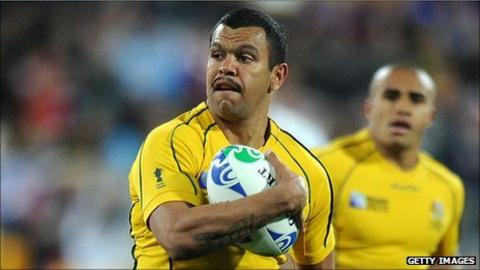 Kurtley Beale returns at full-back for the Wallabies for the play-off with Wales