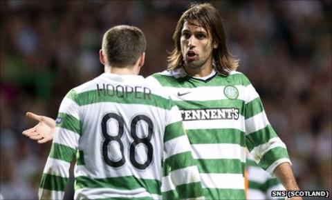 Gary Hooper and Georgios Samaras