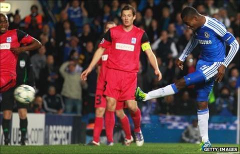 Chelsea's Ivorian Salomon Kalou