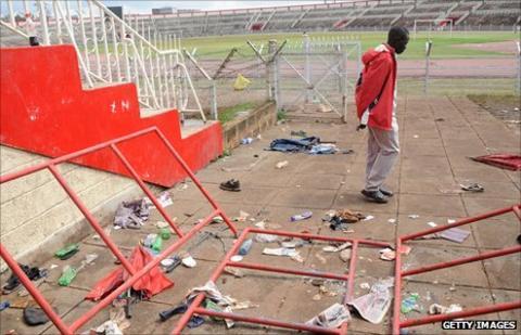 Nyayo Stadium stampede aftermath