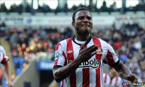 Stephane Sessegnon who scored Sunderland's first goal in the 2-0 win over Bolton