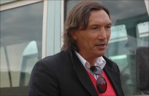 Former Zambia coach Dario Bonetti