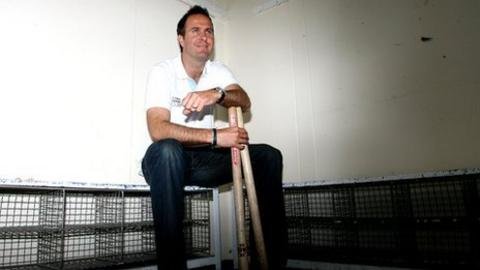 Former England cricket captain Michael Vaughan