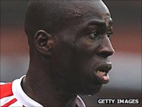 Stoke City striker Mama Sidibe