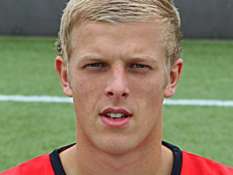 Crewe Alexandra defender Harry Davis