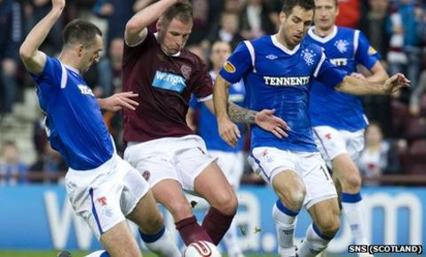 Rangers were 2-0 winners at Tynecastle last weekend