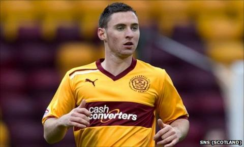 Motherwell forward Robert McHugh