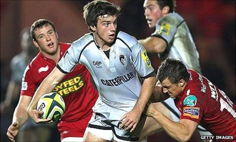 George Ford in action against Scarlets