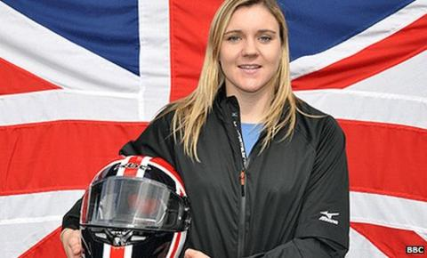 Shone is a former heptathlete who joined the British bobsleigh squad in September