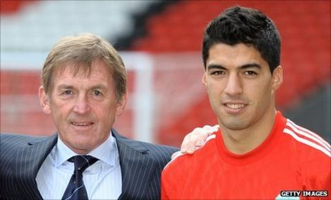 Kenny Dalglish and Luis Suarez