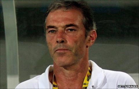 Guinea coach Michel Dussuyer