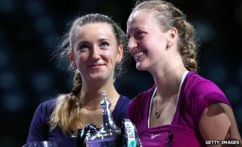 Victoria Azarenka and Petra Kvitova