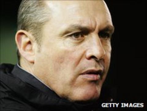 Nantwich Town manager Jimmy Quinn