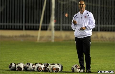 Tunisia coach Sami Trabelsi