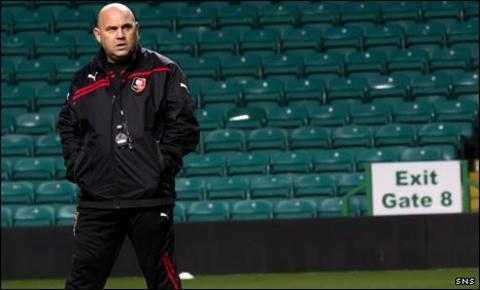 Frederic Antonetti at Celtic Park