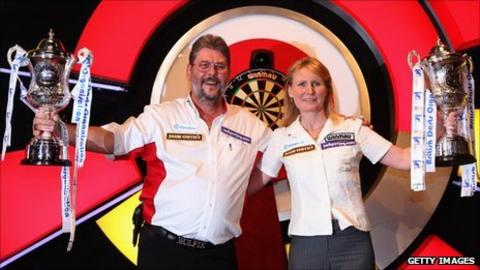 2011 BDO World Champions Martin Adams and Trina Gulliver