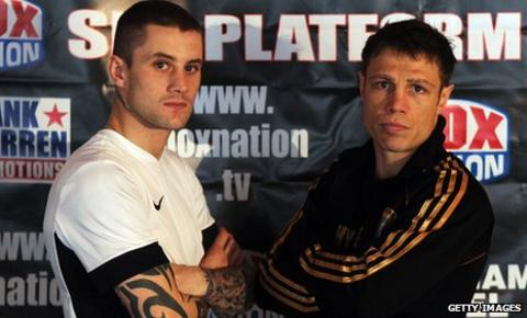 Ricky Burns and Michael Katsidis