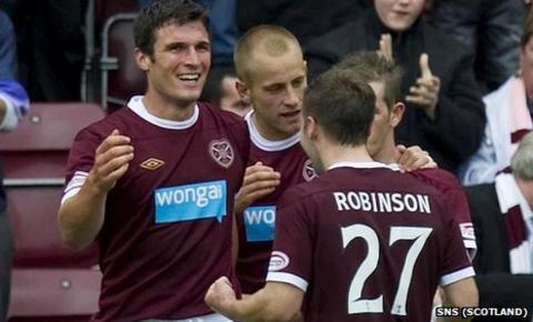 Hearts players have now received their overdue wages