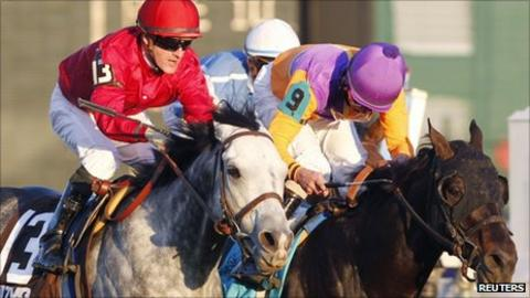 Court Vision wins the Breeders' Cup Mile