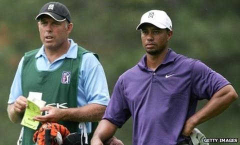 Steve Williams shared in 13 of Tiger Woods's 14 major victories