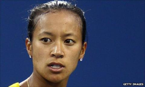 Britain's Anne Keothavong beat Austrian Yvonne Meusburger in Germany
