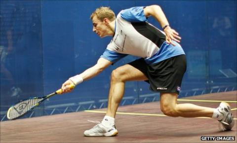 Nick Matthew beat Gregory Gaultier to win the World Open