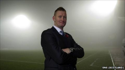 New St Johnstone manager Steve Lomas