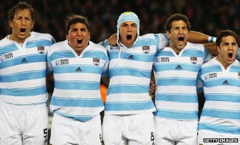 Argentina rugby's finest moment came when they finished third in the 2007 World Cup