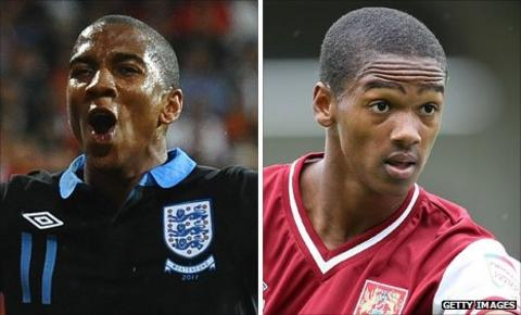 Ashley Young and Lewis Young