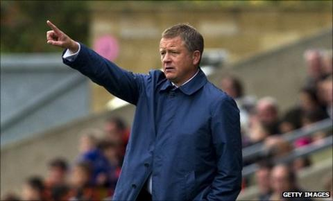 Oxford manager Chris Wilder
