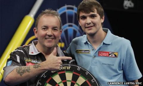 Phil Taylor and James Hubbard
