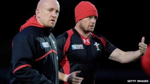Shaun Edwards and Shane Williams