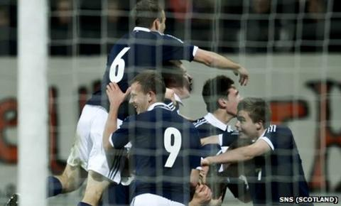 Scotland Under-21s were 2-1 winners against the Netherlands