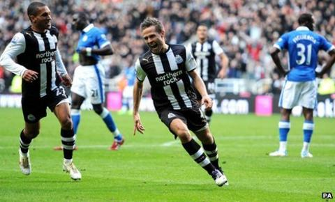 Sylvain Marveaux (left) and Yohan Cabaye