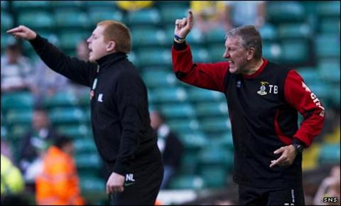 Neil Lennon and Terry Butcher