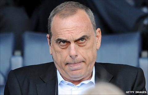 Former Chelsea and West Ham United manager Avram Grant