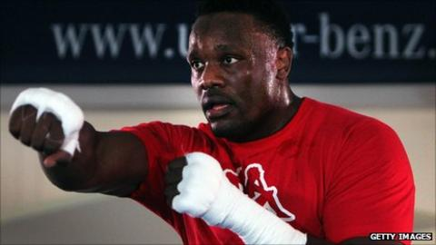 London-born boxer Dereck Chisora