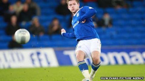 Cardiff City midfielder Aron Gunnarsson
