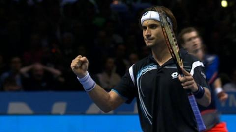 Spain's David Ferrer beats Andy Murray