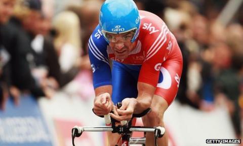 Great Britain cyclist David Millar