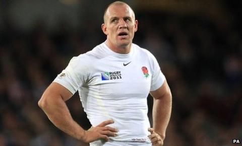 England and Gloucester centre Mike Tindall