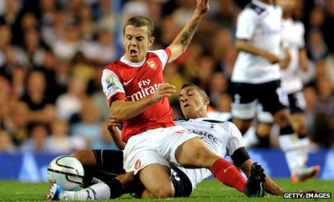 Arsenal's Jack Wilshere is sidelined until January following ankle surgery